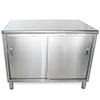 Stainless Steel Dish Cabinets