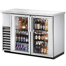 Glass Door Back Bar Refrigerators