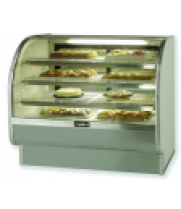Bakery Case Curved Glass