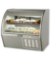 Deli Case Curved Glass