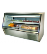 Deli Case Flat Glass