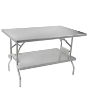 Folding Stainless Steel Work Tables