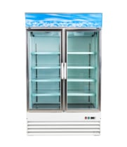 Glass Door Reach In Freezers