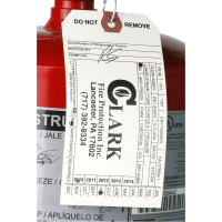 Universal  47220ABC - Buckeye 20 lb. ABC Fire Extinguisher - Rechargeable Tagged - UL Rating 20A-120B:C
