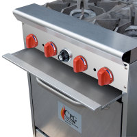 Cooking Performance Group 24-CPGV-4B-S20 - 4 Burner Gas Range - 20