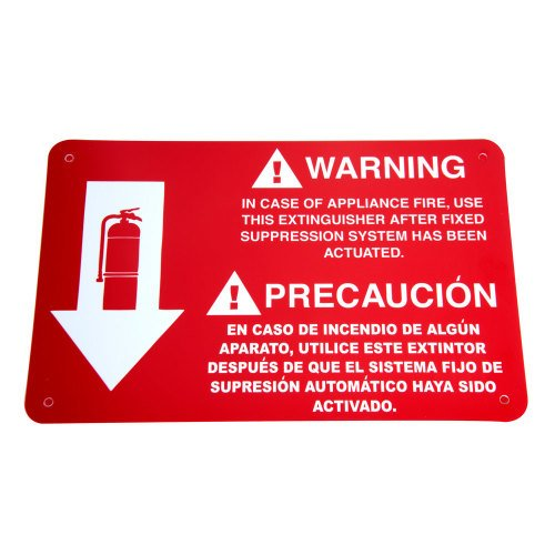 Universal  472WC100 - Buckeye 6 Liter Class K Wet Chemical Fire Extinguisher Tagged - Rechargeable UL Rating 1A:K
