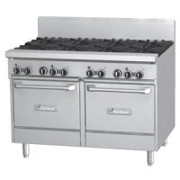 Garland GF48-8LL - 8 Burner Gas Range - (2) Space Saver Ovens