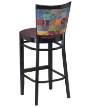 G & A Seating 9650FP - Checker Back Chair (12 per Case)