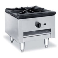 Universal Stainless Steel Pot Stove 1 Burner with 25