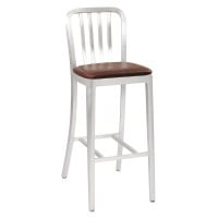 G & A Seating 871PS - Aluminum Classic Bar Stool (12 per Case) (Default)