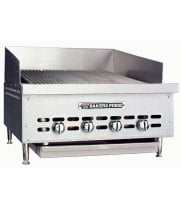 Bakers Pride XX-4 - Countertop Gas Radiant Charbroiler, 4 Burners
