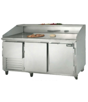 "Leader DR72 - 72"" Refrigerated Pizza Dough Retarder Table"