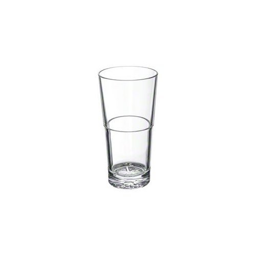 Thunder Group PLTHST214C - 14 oz Stackable Polycarbonate Tumbler - Case of 12