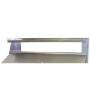 "Beverage Air - 00C23S026A - Single Overshelf For 27"" W Sandwich/Salad Tables"