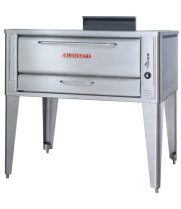 Blodgett 1048DBL - Gas Pizza Oven - Double Deck with Wide Baking Compartment 60""