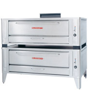 Blodgett 1060-DBL - Gas Pizza Oven - Double Deck with Wide Baking Compartment 60""