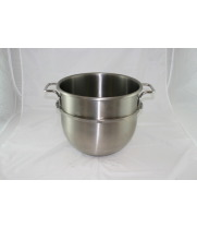 Globe - GM20BWL - 20 Qt. Stainless Steel Mixing Bowl