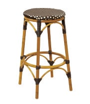 G & A Seating 831B - Aluminum Bamboo Bar Stool (12 per Case)