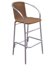 G & A Seating 925 - Aluminum Bamboo Bar Stool (12 per Case)