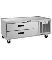 Delfield F2956C - 2 Drawer Refrigerated Chef Base - 56""