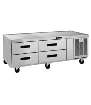 Delfield F2962C - 4 Drawer Refrigerated Chef Base - 62""