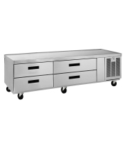 Delfield F2975C - 4 Drawer Refrigerated Chef Base - 75""