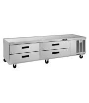 Delfield F2980C - 4 Drawer Refrigerated Chef Base - 80""