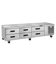 Delfield F2987C - 6 Drawer Refrigerated Chef Base - 87""