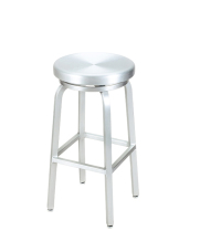 G & A Seating 891 - Aluminum Classic Bar Stool (12 per Case)