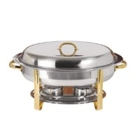 Update International DC-2DF - 6 Qt - Oval Chafer Food Pan