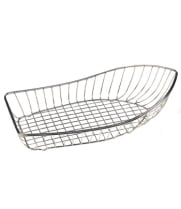 GET Enterprises - 4-81220 - Large Stainless Steel Boat Basket
