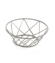 GET Enterprises - 4-81433 - Stainless Steel Braided Rim Basket