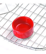 GET Enterprises - 4-CM0373R - 3 oz. Red Melamine Salsa Dish