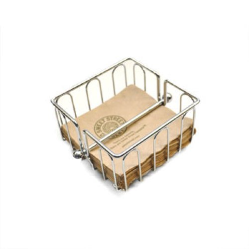 Clipper Mill - 4-22431 - Small Napkin Basket with Rod
