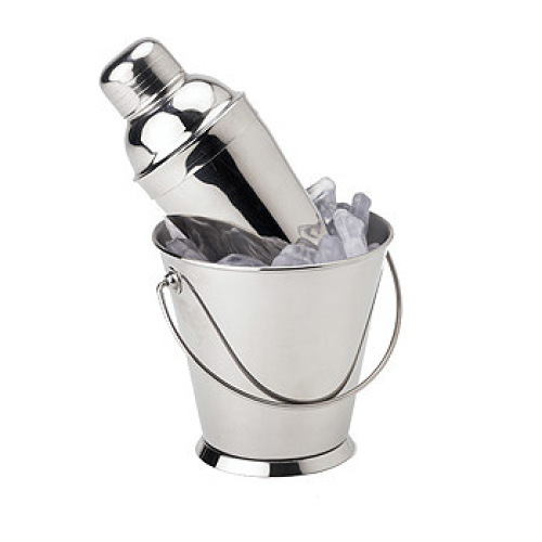 Clipper Mill - 4-80820 - 22oz Stainless Pail with 8oz Cocktail Shaker Set