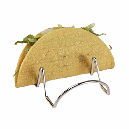 Clipper Mill - 4-81855 - Stainless Steel Double-Taco Holder