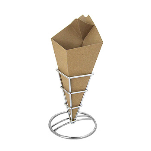 Clipper Mill - 4-TA-540 - Brown Take Away Cones - Case of 500