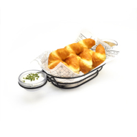 Clipper Mill - 4-361632 - Teflon Dip Basket with 2 Ring Holders
