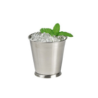 Clipper Mill - 4-80808 - 12 oz. Brushed Stainless Serving Cup