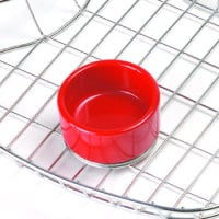 Clipper Mill - 4-CM0373R - 3 oz. Red Melamine Salsa Dish