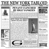 Clipper Mill - 4-TY1200 - New York Tabloid 12