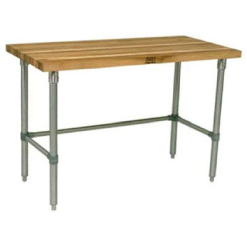 John Boos Hnb01 36 X 24 Butcher Block Work Table W Galvanized