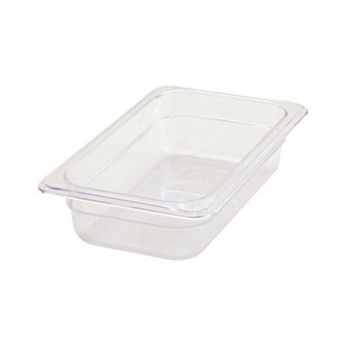 Winco Poly-Ware 1/4 Size Food Pan 2 1/2