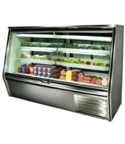 "Leader HDL72 - 72"" Double Duty Refrigerated Deli Display Case"