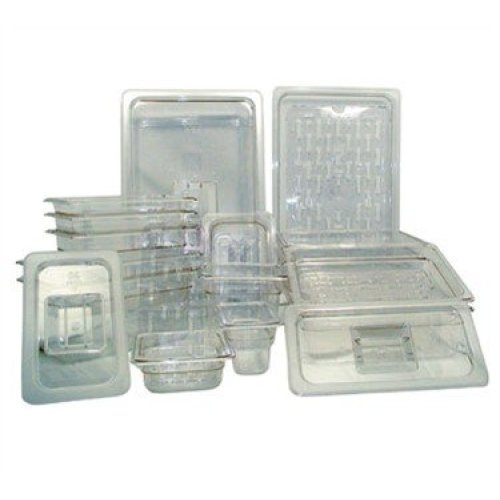 Update International PCP-504 - Half Size Polycarbonate Food Pan