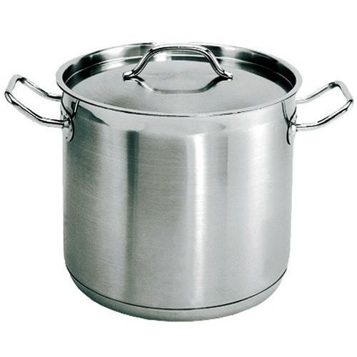 Update International SPS-80 - 80 Qt - Induction Ready Stainless Steel Stock Pot w/Cover
