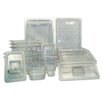 Update International PCP-256 - Fourth Size Polycarbonate Food Pan