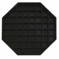Update International DT-6X6 - Octagonal Plastic Drip Tray