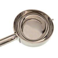 Update International DS-10 - 3.75 Oz - Stainless Steel Ambidextrous Disher