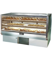 "Leader CBK57-D - 57"" Dry Bakery Display Case - Counter Height"